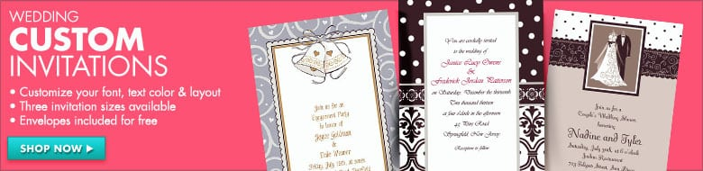 Wedding Invitations Party City