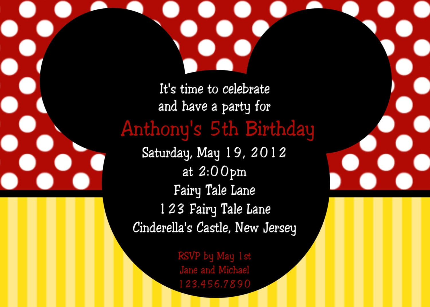 26 Images Of Mickey Mouse Party Invitation Template