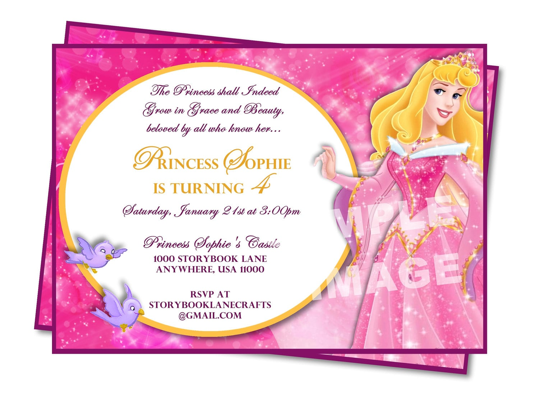 Aurora Invitation