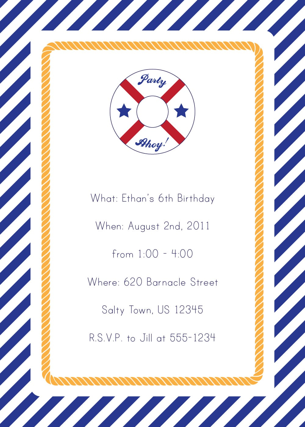 Baby Shower Invitations Nautical Theme Boy Unique Party Packs Emmy