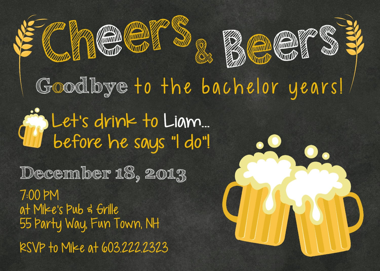 Bachelor Party Invite Bachelor Party Invite For Invitations Your