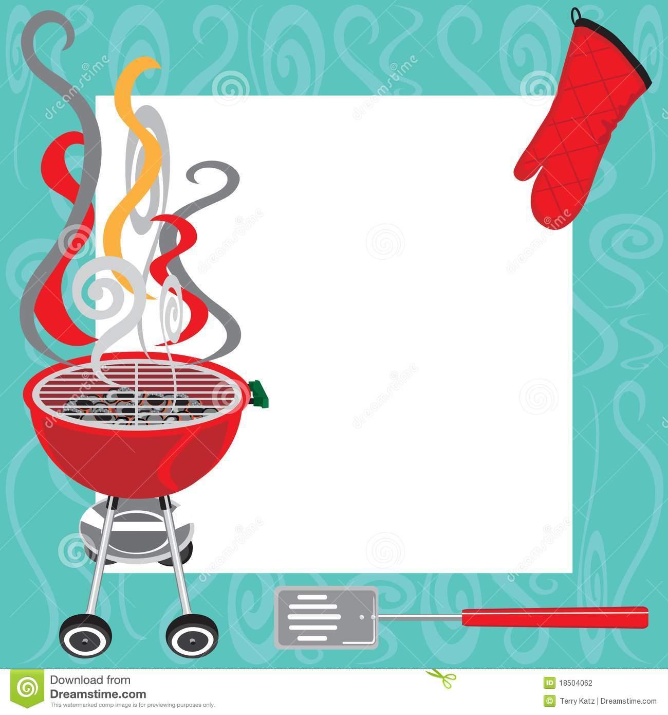 Barbecue Party Invitation Templates