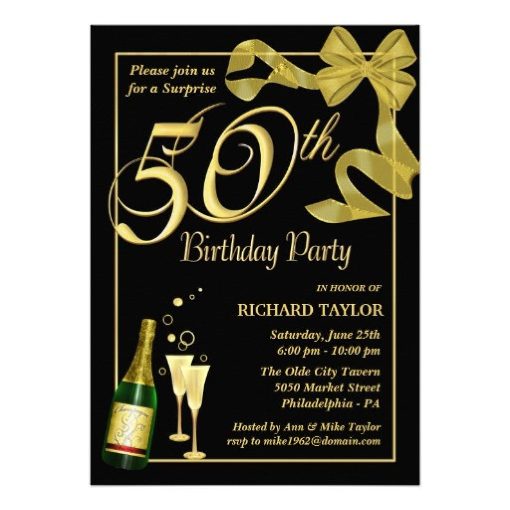 Birthday Invites Elegant 50th Birthday Invitations For Her Full Hd