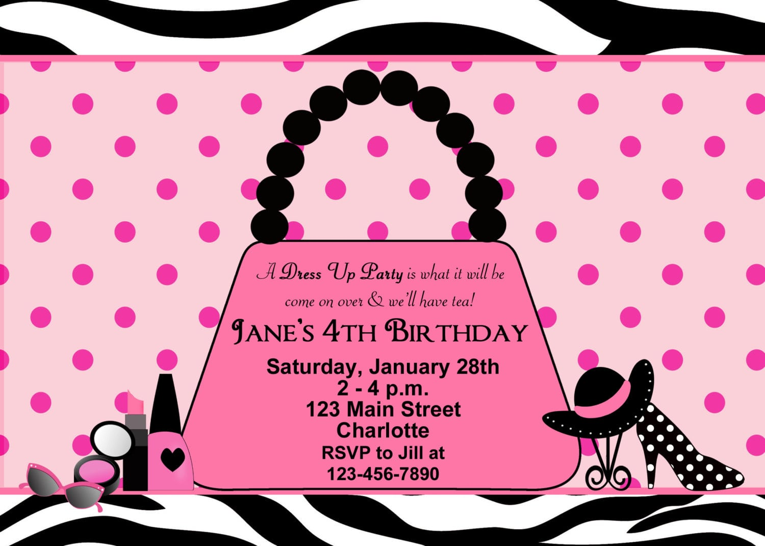 Cool Fashion Party Invitations Ideas