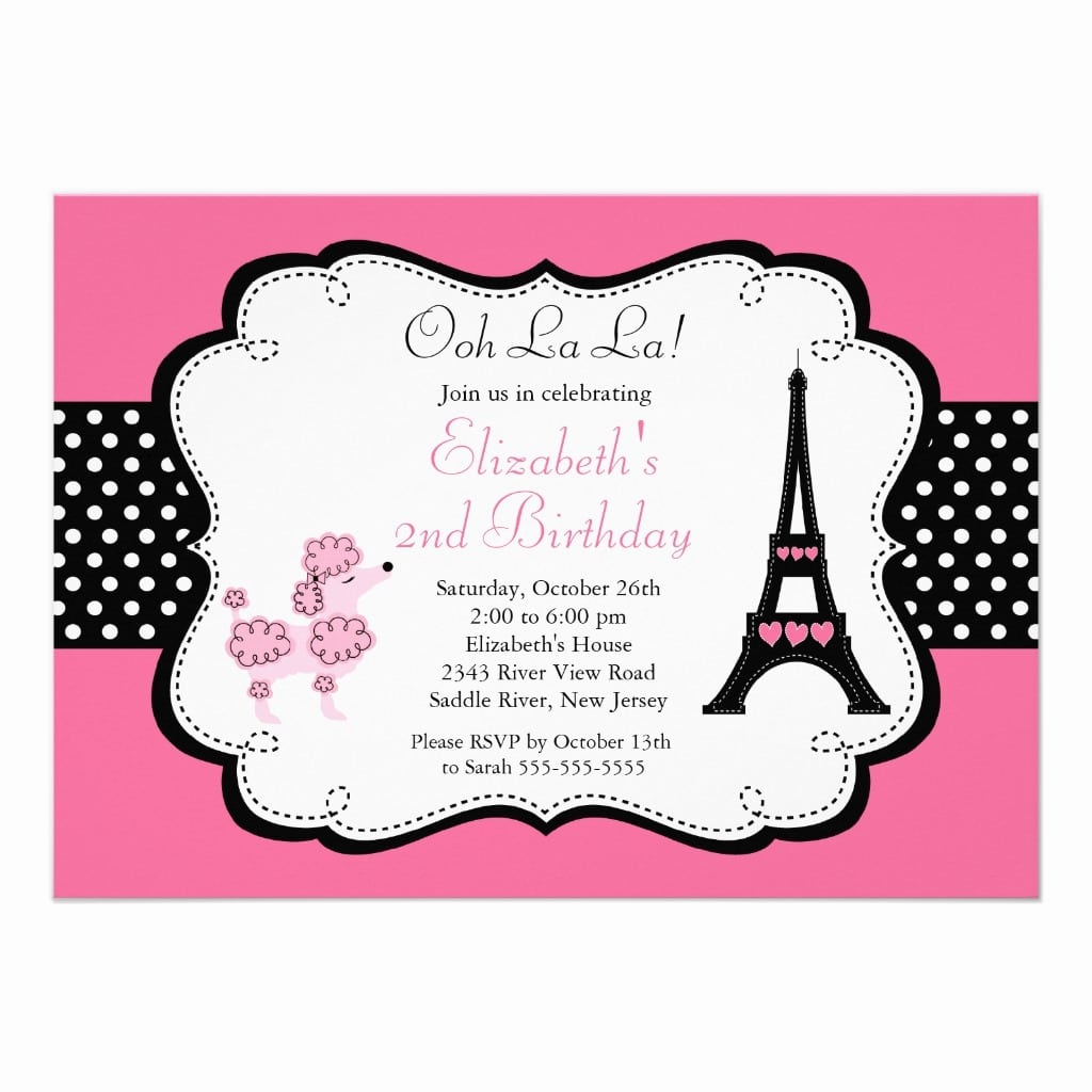 French Party Invitations Was Luxury Ideas To Create Elegant