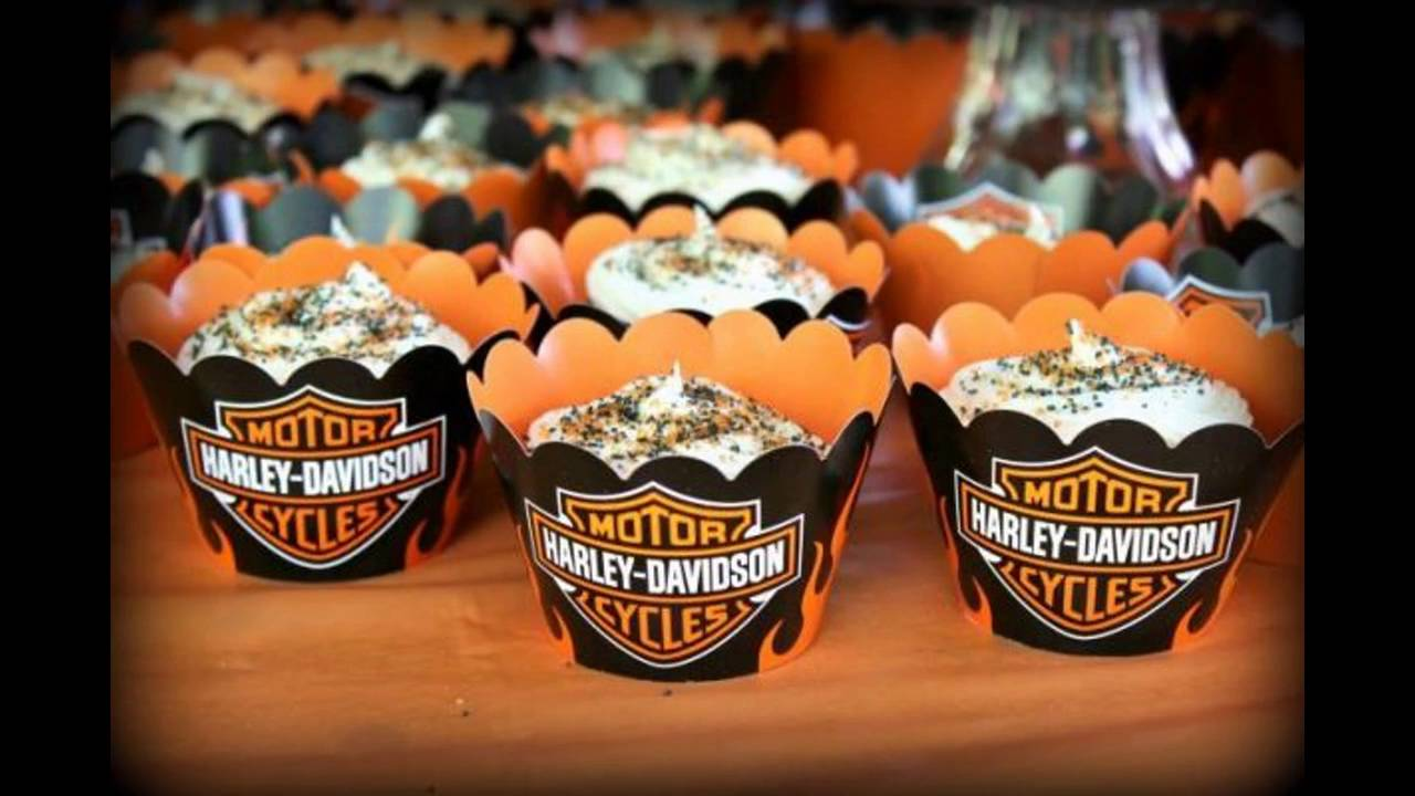 Harley Davidson Party Themed Decorating Ideas