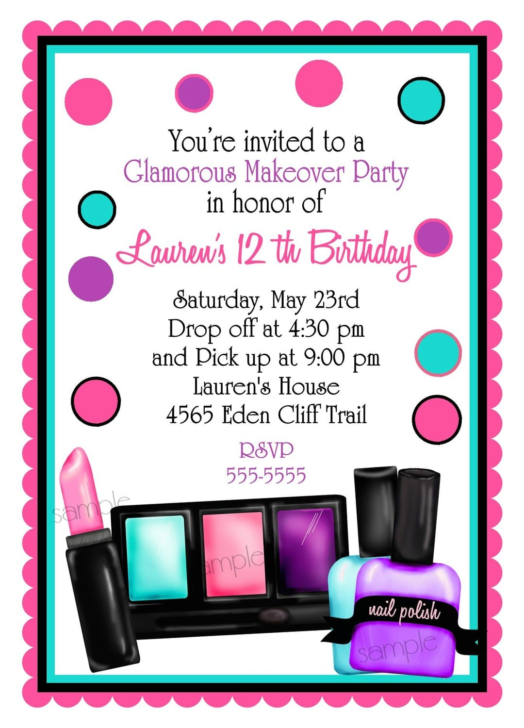 Invitations For A Party