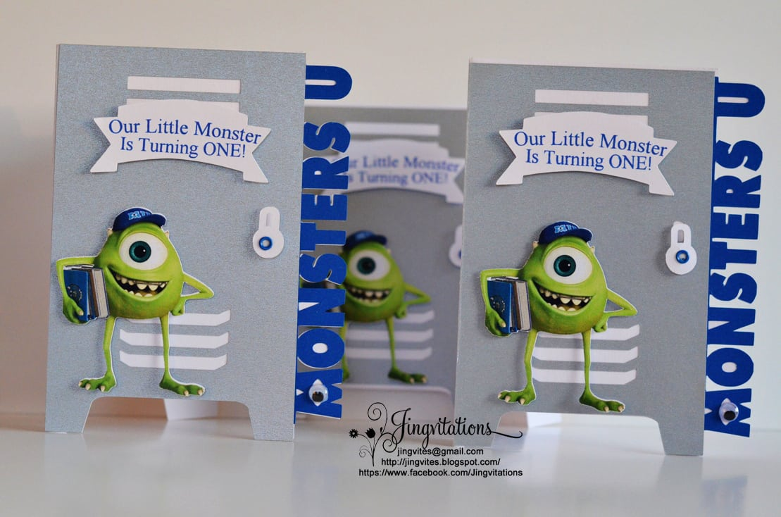 Monster University Party Invitations - Mickey Mouse Invitations ...