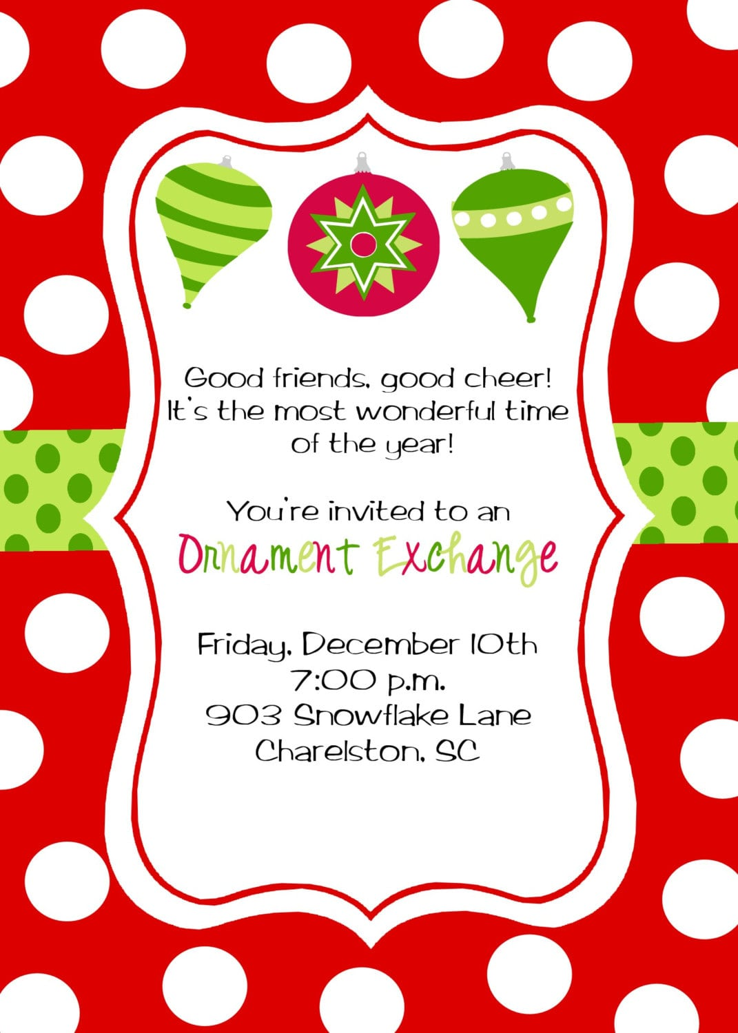 Party Invitations  10 Top Christmas Party Invitations Wording