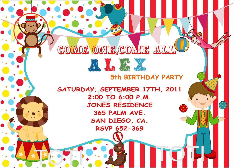 Tesco Party Invitations