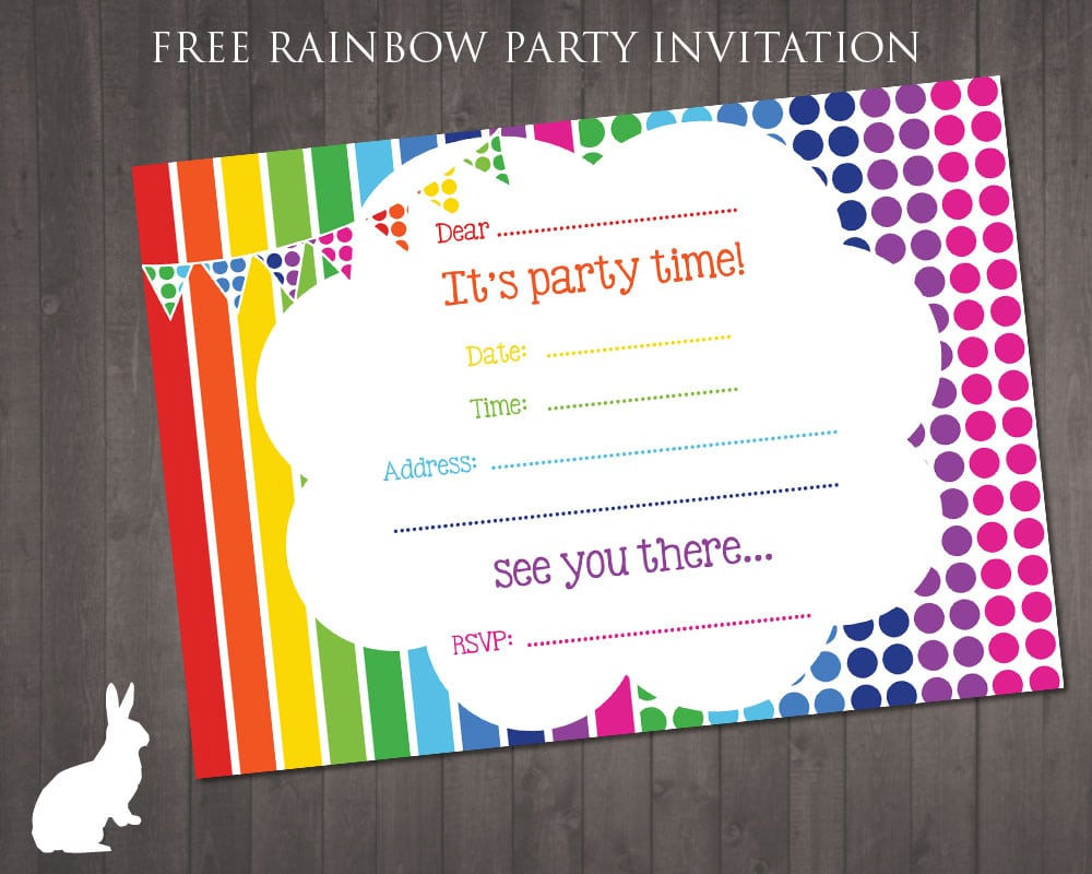 Party Invites Free