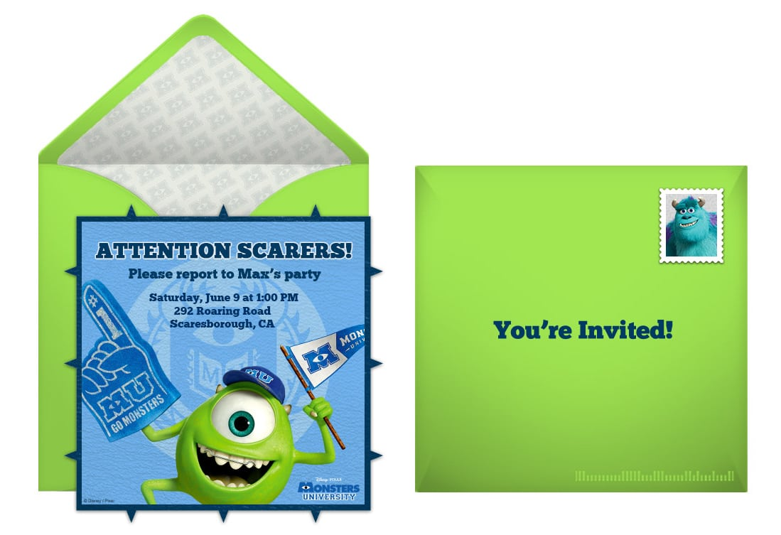 Plan A Frightfully Fun Monsters University Birthday Party