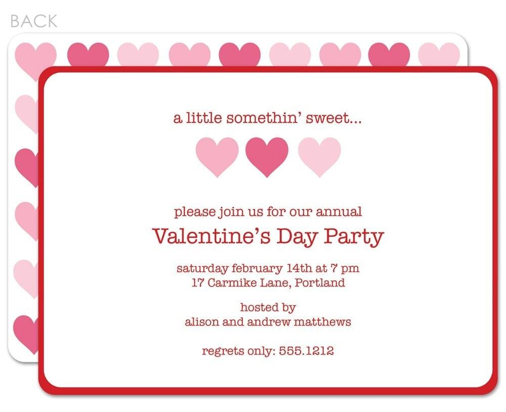 Valentine's Day Invitation Template