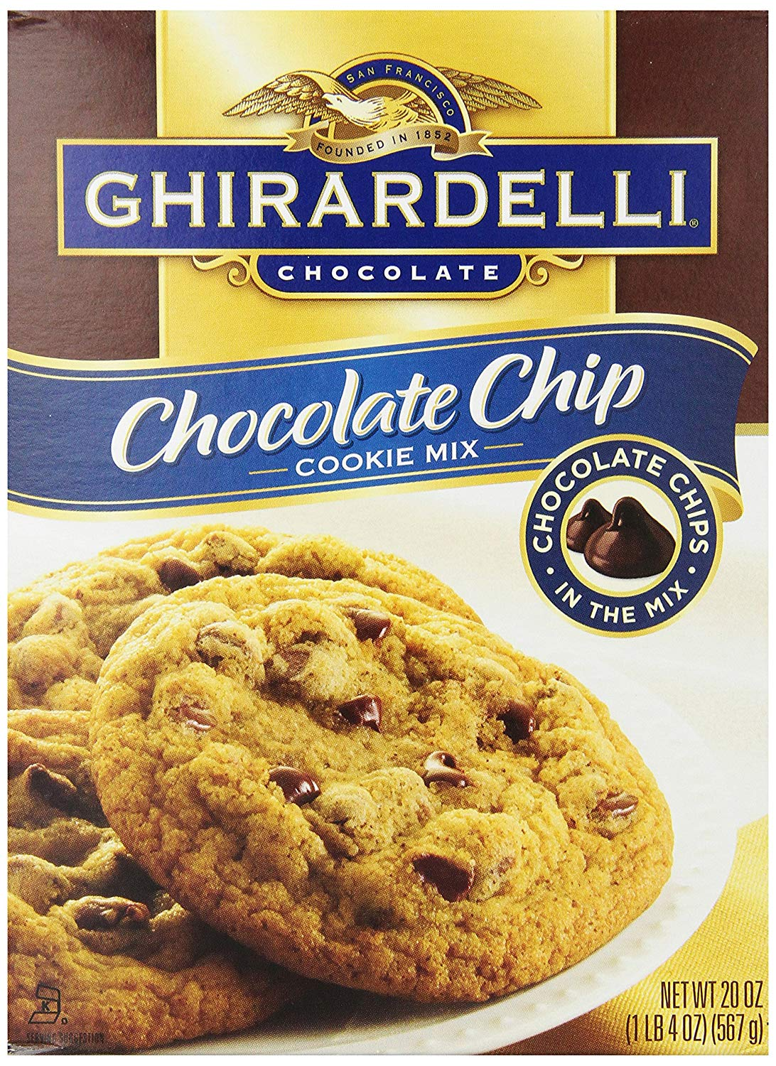 Amazon Com   Ghirardelli Chocolate Chip Cookie Mix, 20