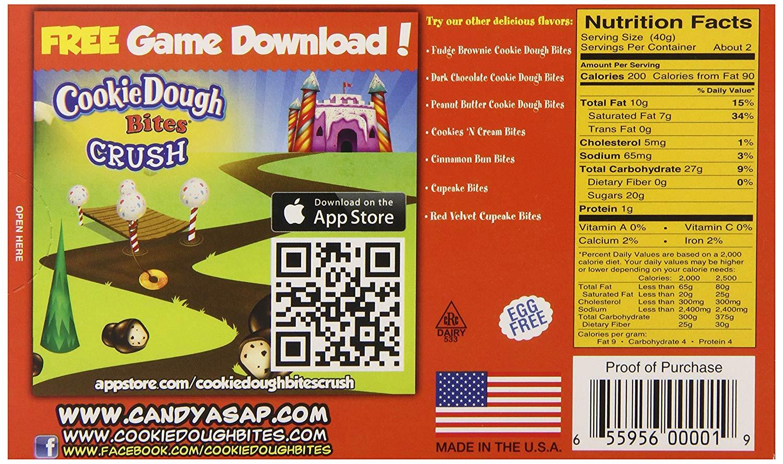 Amazon Com   Taste Of Nature Inc  Chocolate Chip Cookie Dough