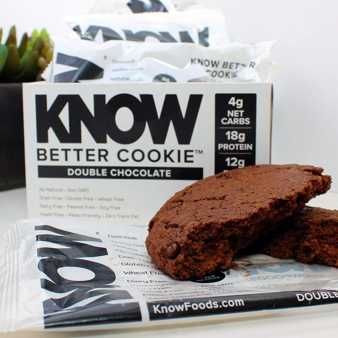 Amazon Com  Know Foods Gluten Free, Low Carb, Protein Cookies