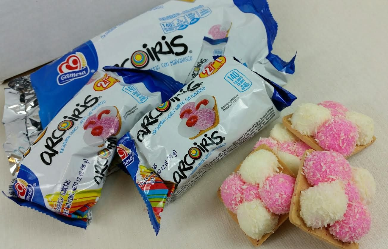 Arcoiris Marshmallow Cookies
