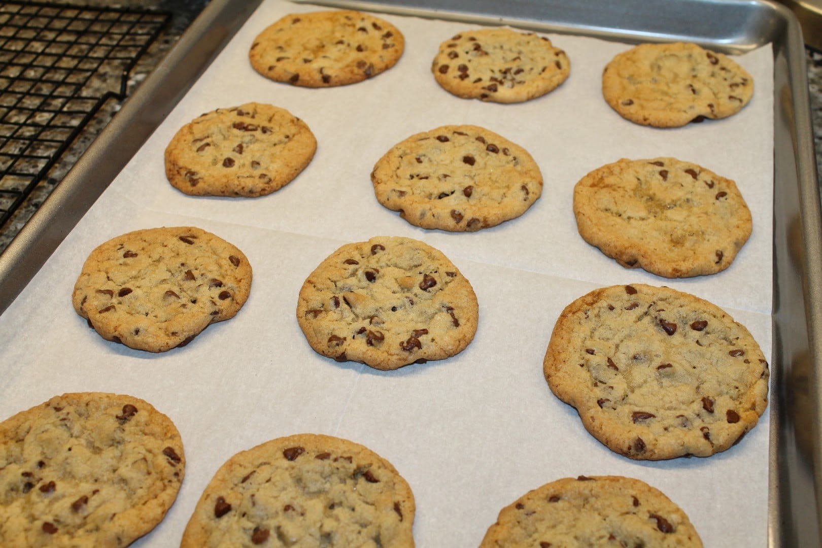 Ashley Makes Crisco Chocolate Chip Cookies