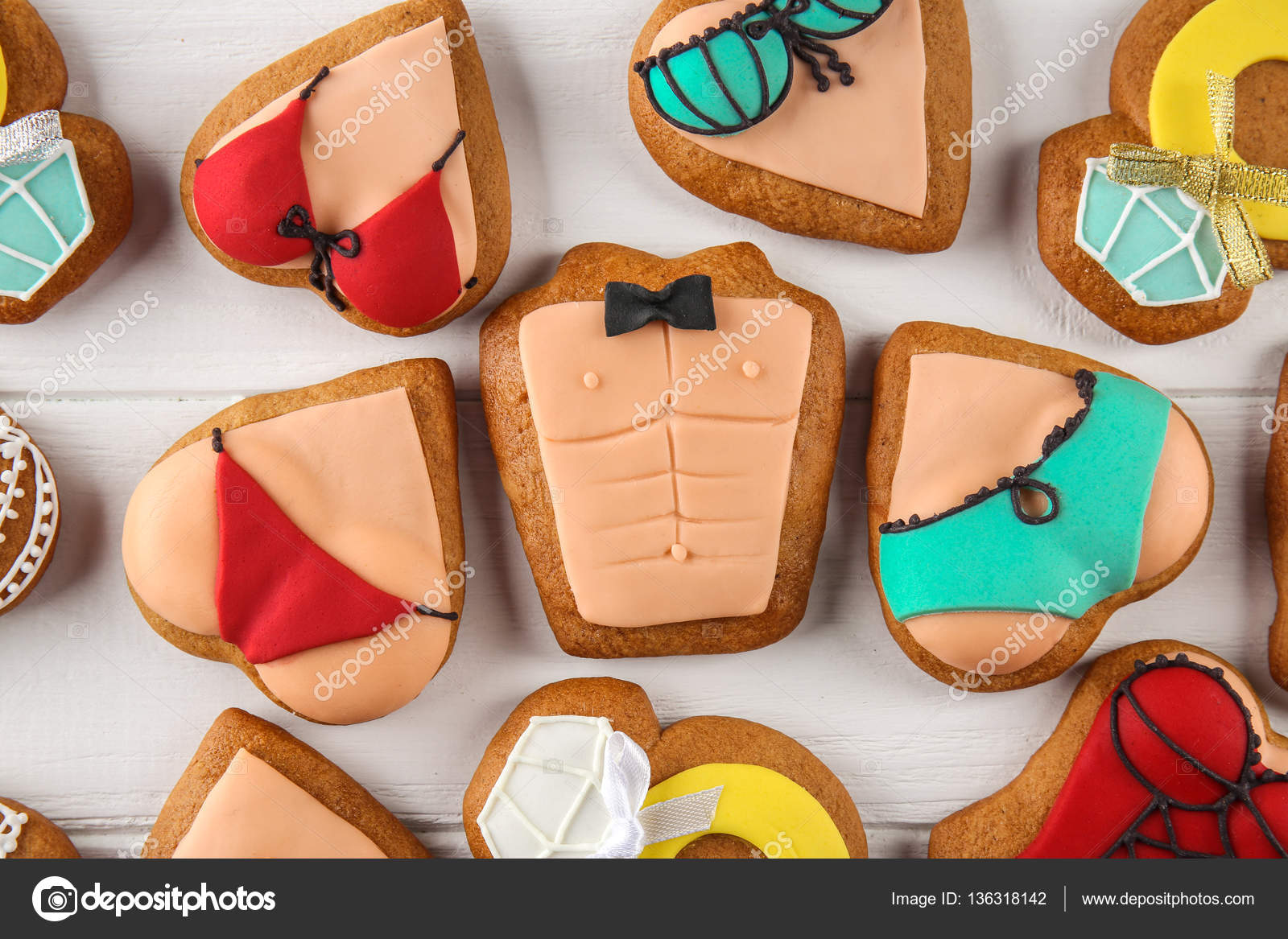 Bachelorette Party Cookies — Stock Photo © Belchonock  136318142