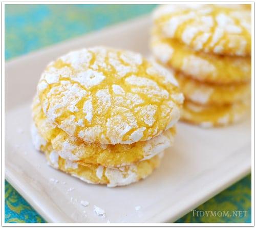 Box Cake Mix Cookies