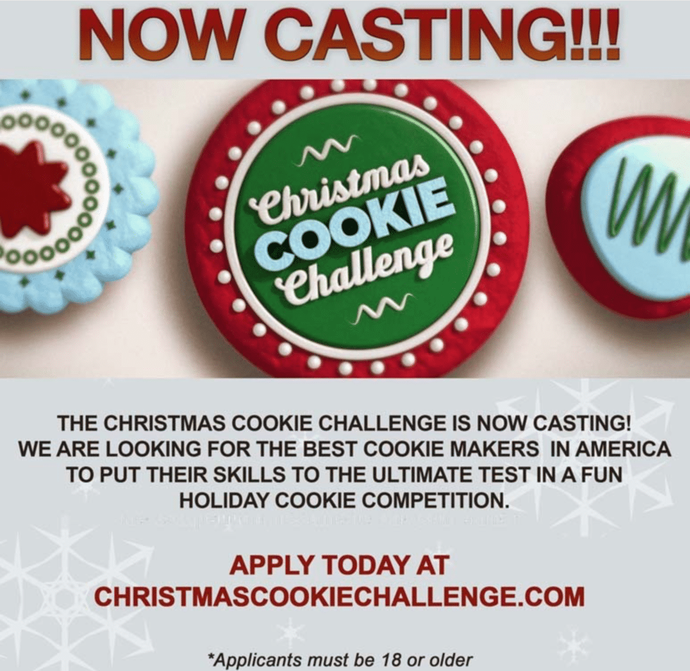 Food Network Christmas Cookie Challenge