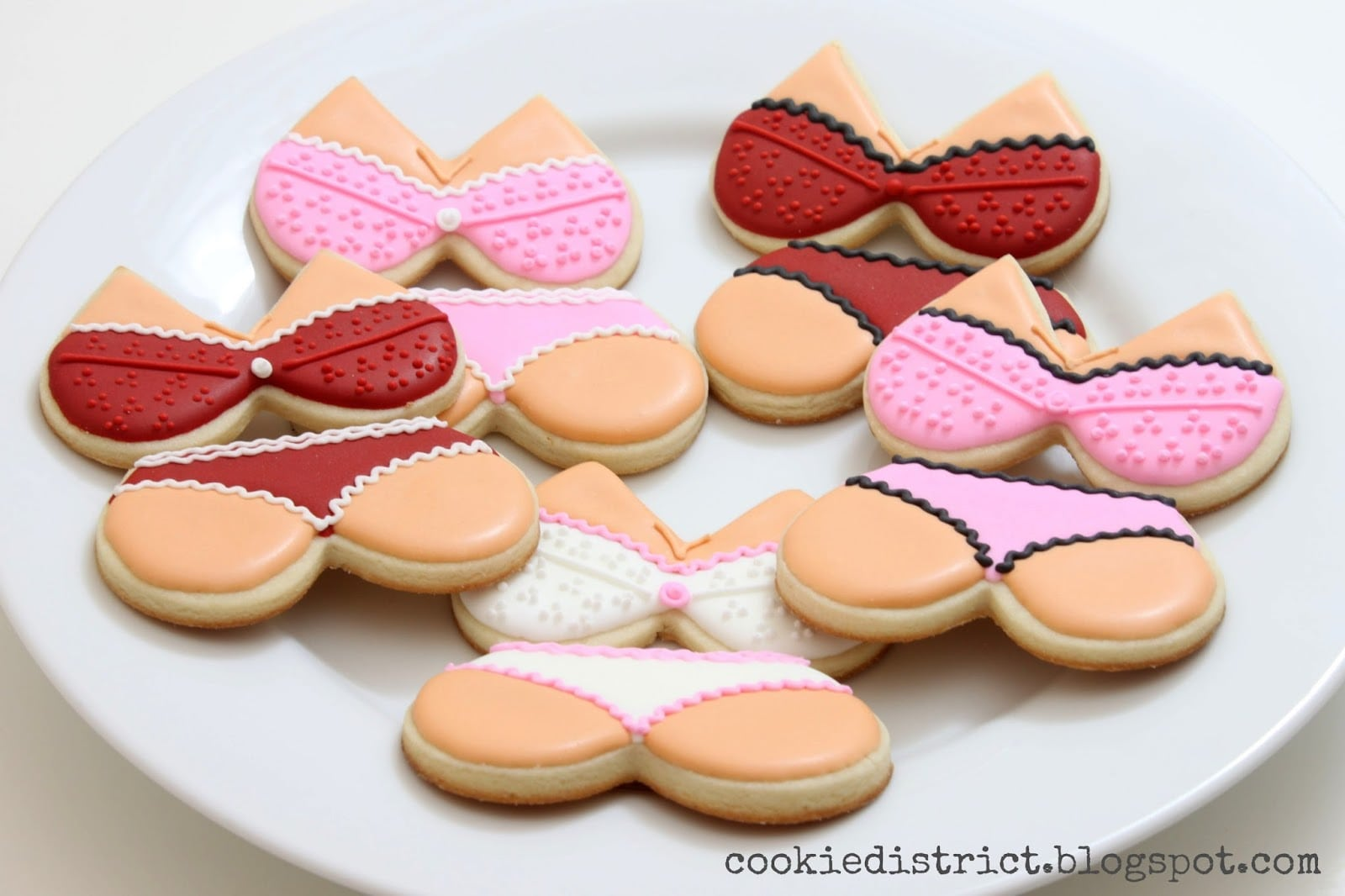 Cookie District  Bachelorette Party Cookies