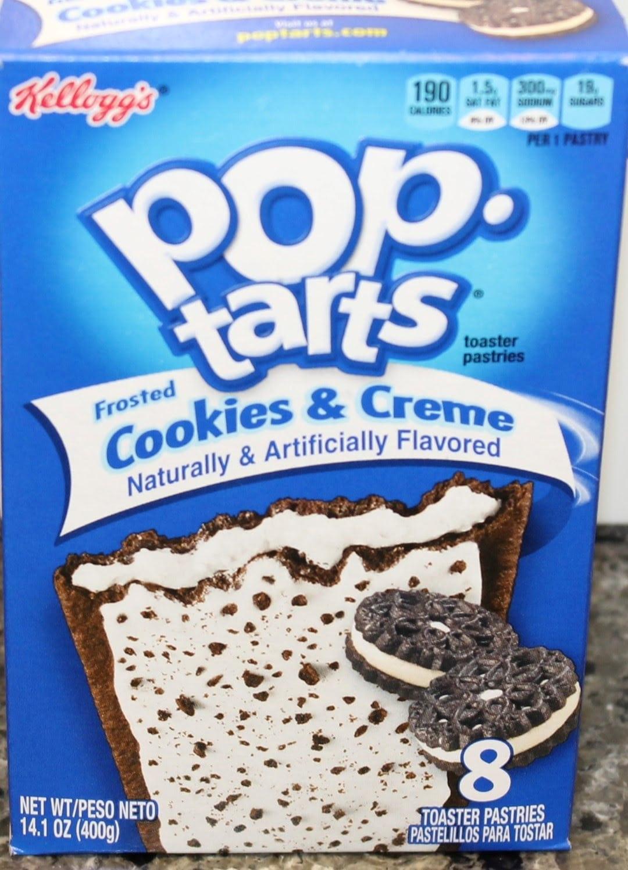Cookies & Cream Pop Tarts Review