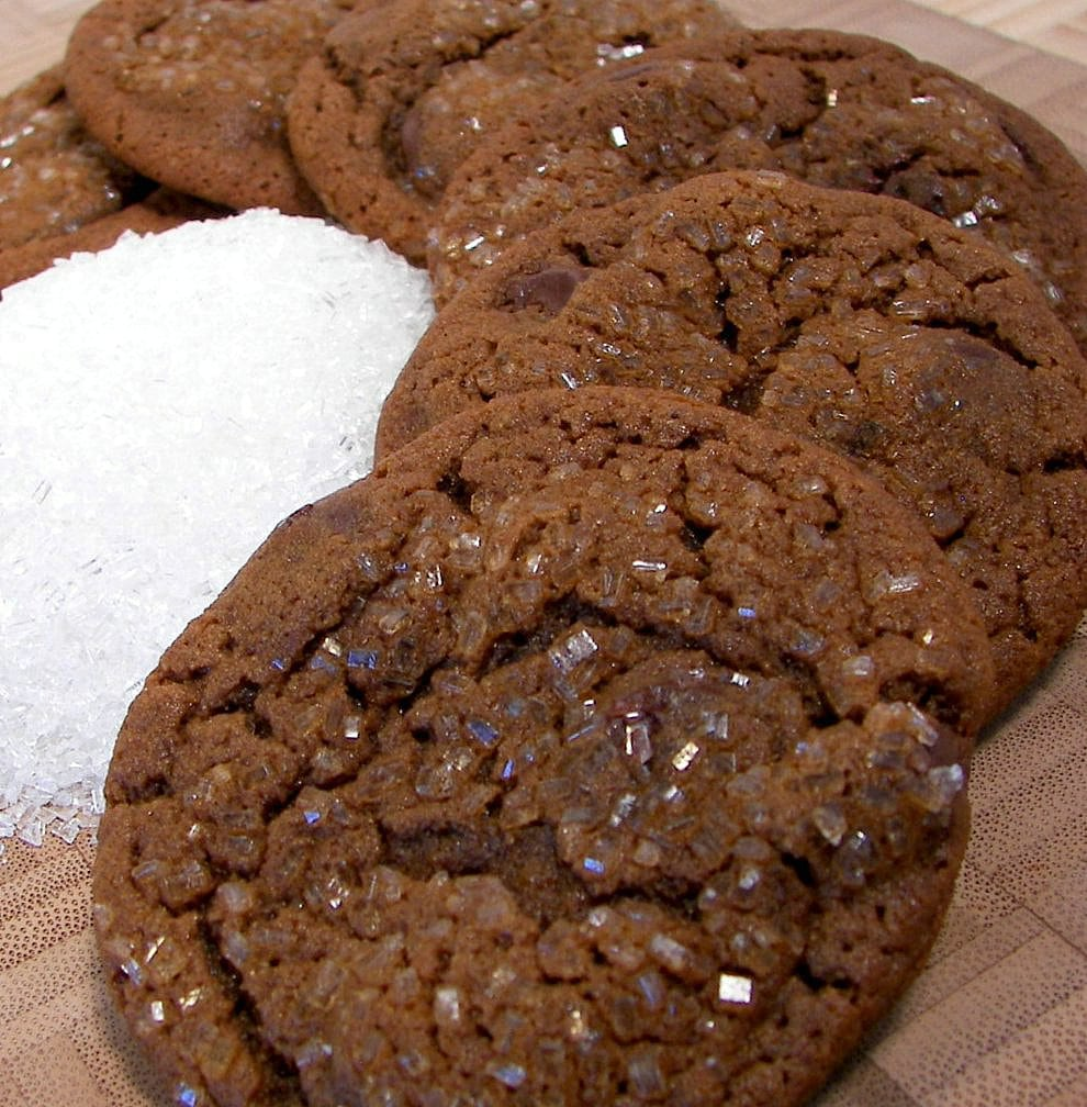 Culinary In The Desert  Chewy Chocolate Gingerbread Cookies