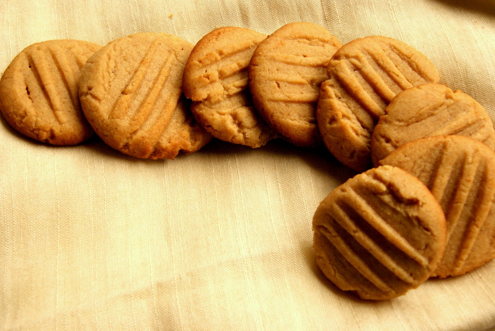 Dil Se    Eggless Peanut Butter Cookies