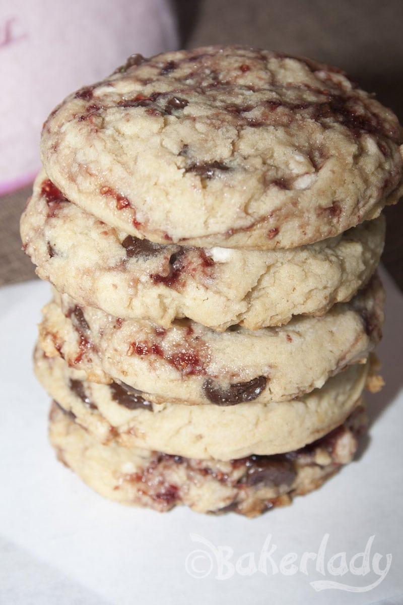 Disneyland's White Chocolate Raspberry Cookie – Bakerlady