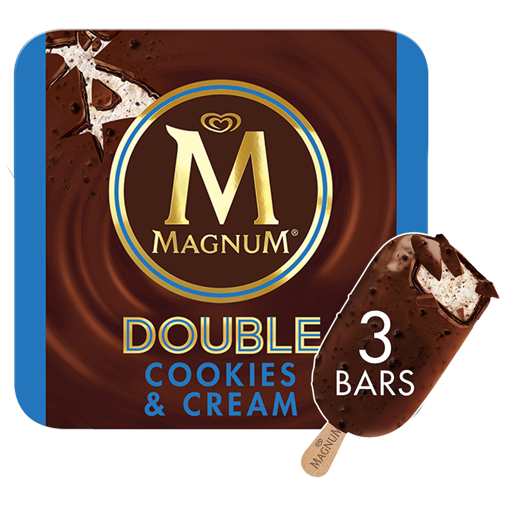 Double Cookies & Cream Ice Cream Bar