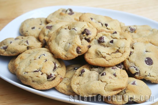 Er Crisco Chocolate Chip Cookies
