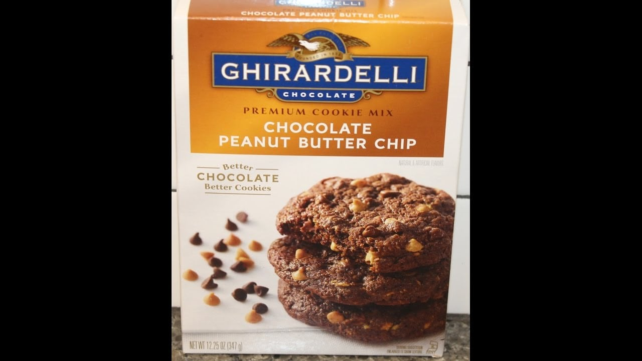 Ghirardelli Chocolate Peanut Butter Chip Cookie Mix – Preparation