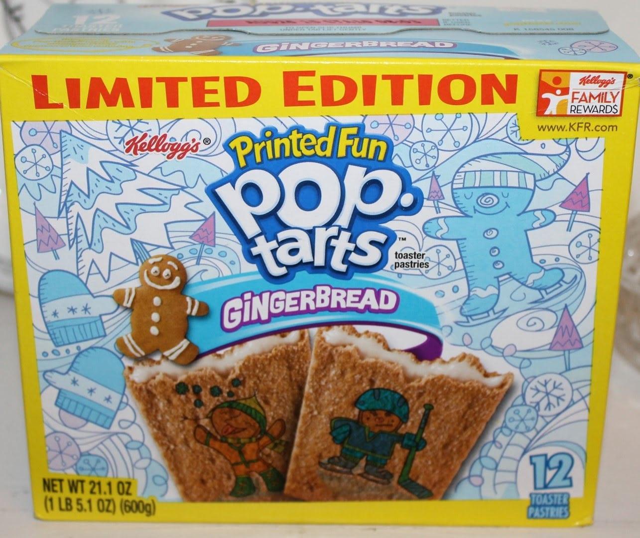 Gingerbread Pop Tarts Taste Test & Review