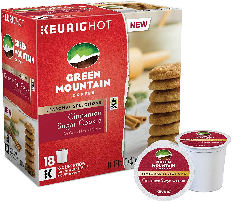 Green Mountain Coffee Cinnamon Sugar Cookie K