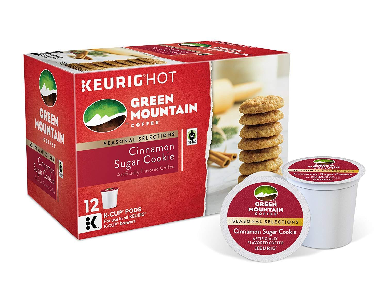 Green Mountain Coffee, Cinnamon Sugar Cookie, K