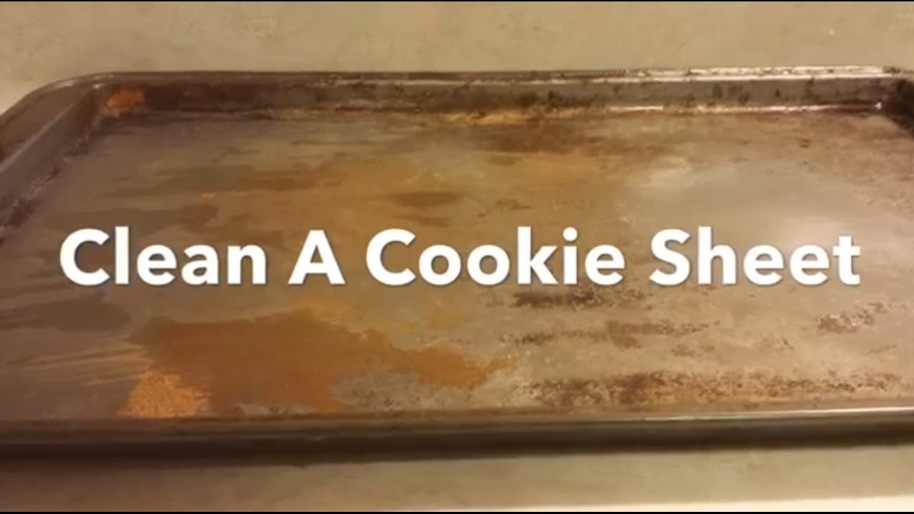 How To Clean A Cookie Sheet Bar Keepers Friend Cleans Burnt Stains