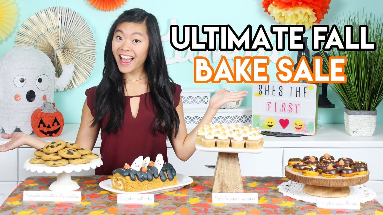 How To Create The Ultimate Fall Bake Sale Donuts, Cupcakes, And
