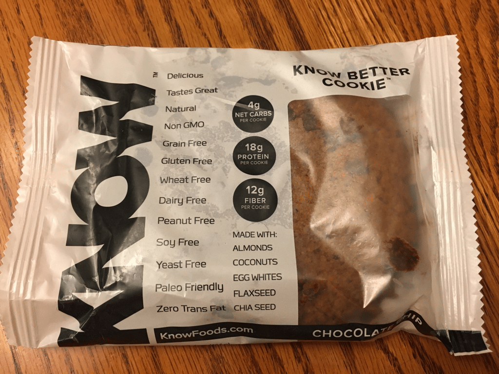 Know Better Chocolate Chip Cookie Review