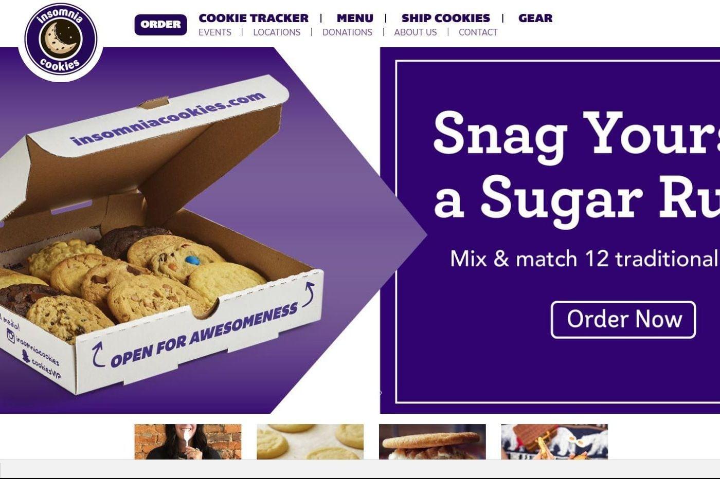 Krispy Kreme Buys Philly's Insomnia Cookies