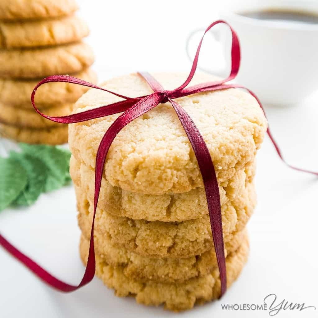 Low Carb Almond Flour Cookies Recipe (gluten
