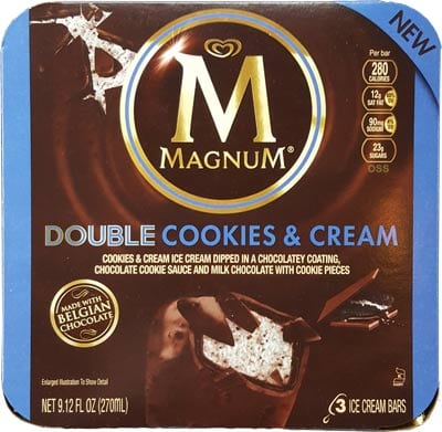 Magnum Cookies And Cream