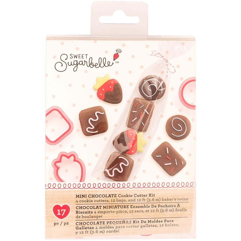 Mini Chocolate Cookie Cutter Kit