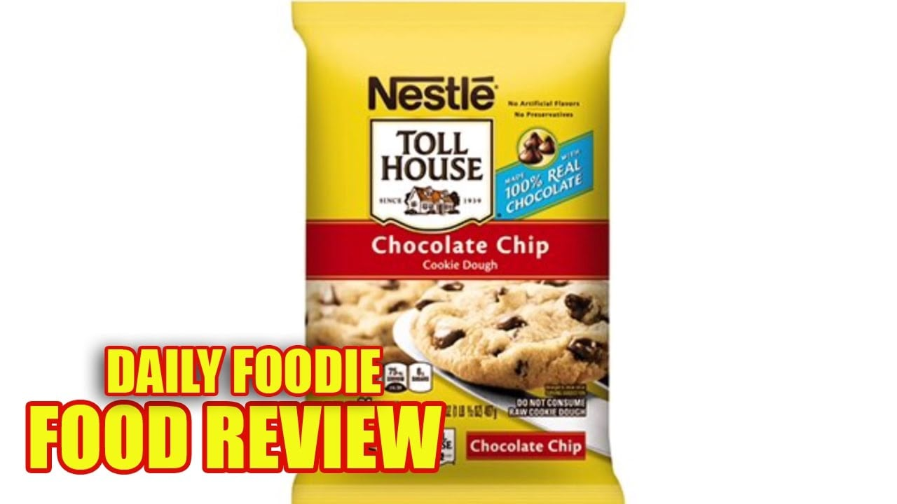 Nestle Chocolate Chip Cookie Dough Review