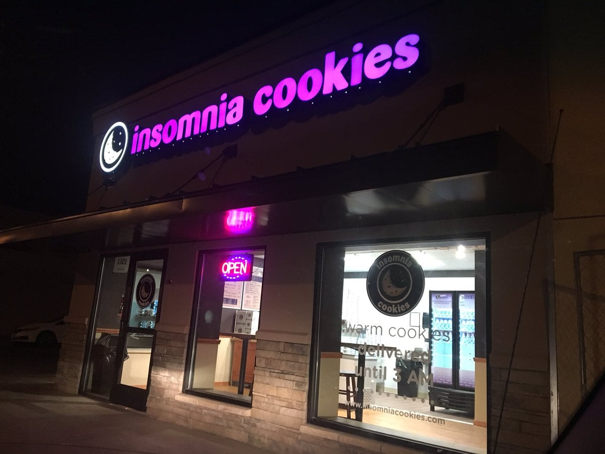 Pete Christy On Twitter   I'm Trying Insomnia Cookies At 13th And