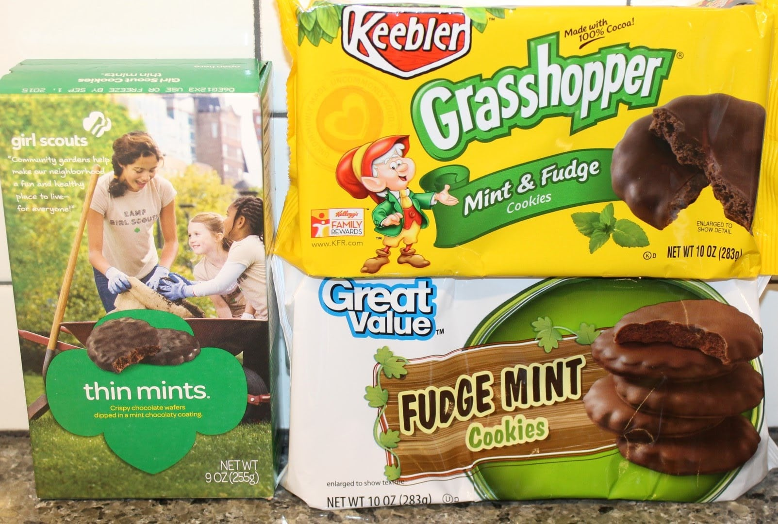 Shopping Matchup  Girl Scout Vs  Generic Cookie Brands