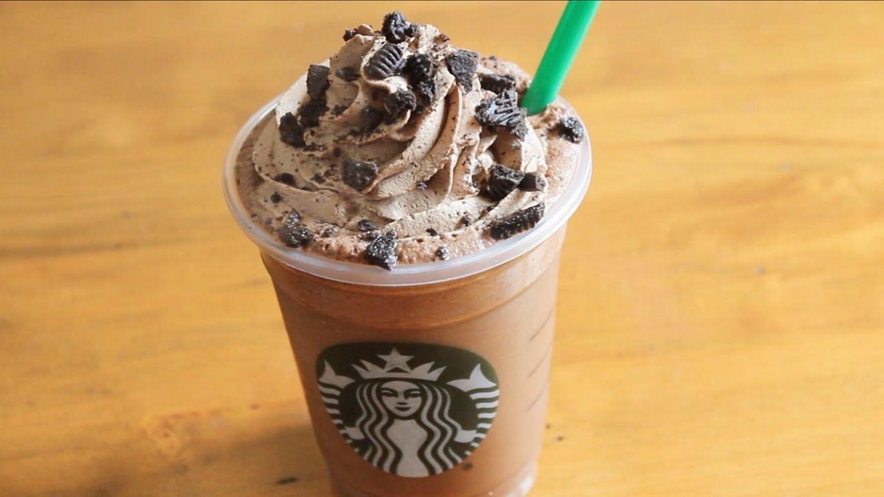 Starbucks Mocha Cookie Crumble Frappuccino