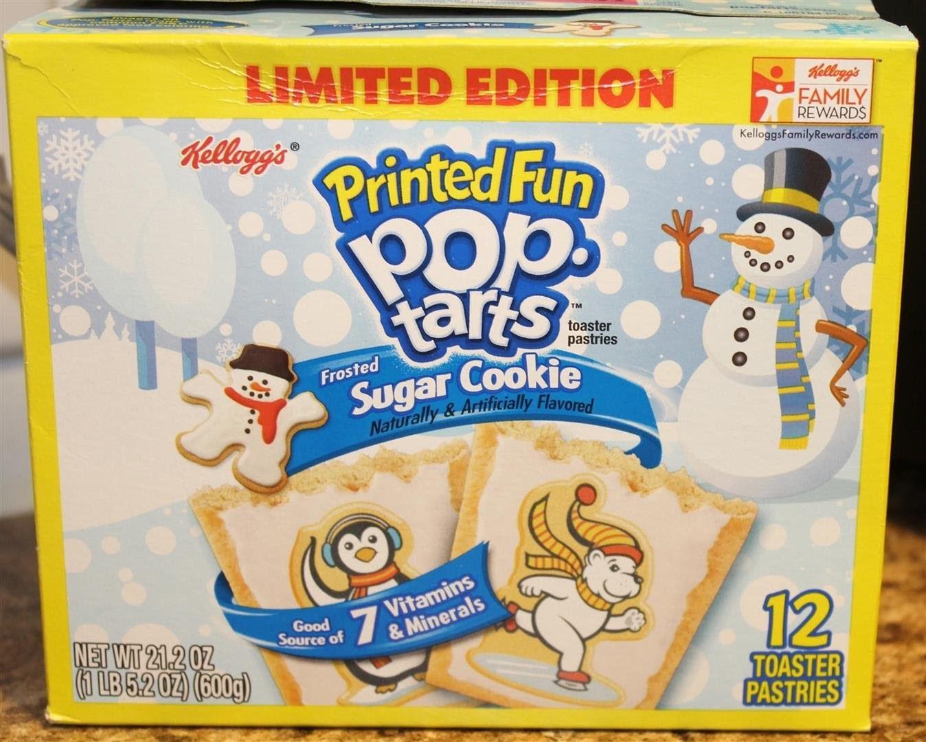 Sugar Cookie Pop Tarts Taste Test & Review