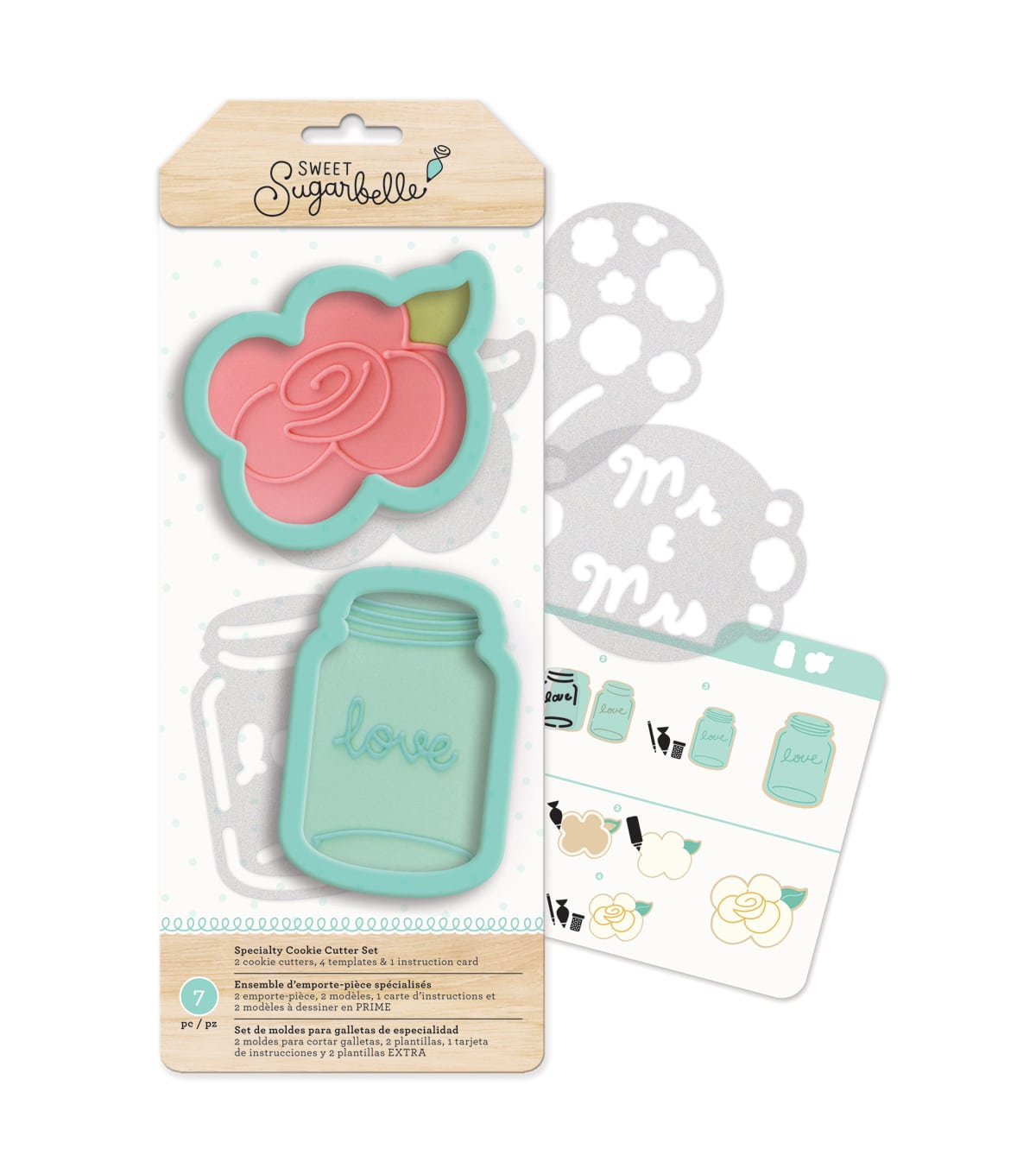 Sweet Sugarbelle Cookie Cutters Rose