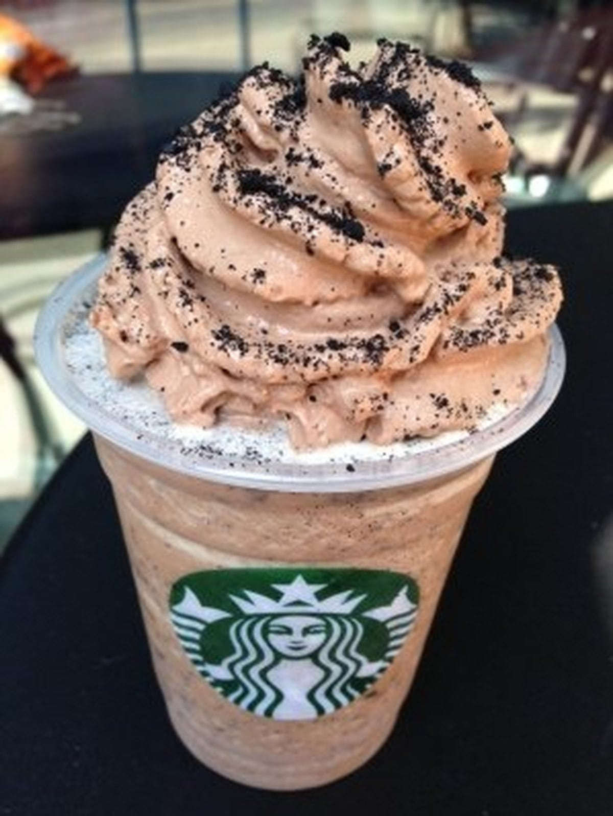 Washington's Starbucks Mocha Cookie Crumble Frappuccino  Seattle